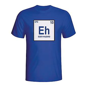 Eden Hazard Chelsea Periodic Table T-shirt (blauw)