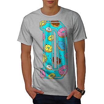 Lakers-camicia di lettera D ciambella moda uomo | Wellcoda