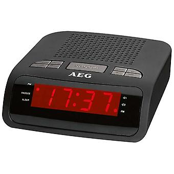 AEG Radio alarm clock MRC 4142 black