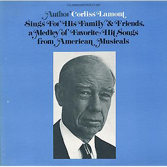 Corliss Lamont - Corliss Lamont Sings for His Family & Friends a Me [CD] USA import