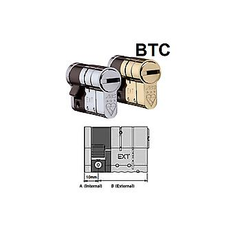Avocet Avocet ABS High Security Half Euro Cylinder - Anti Snap Lock - TS007 3 Star (Built To Code)