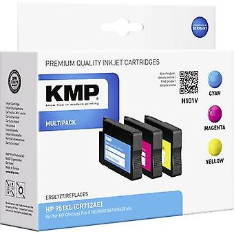 KMP Ink replaced HP 951, 951XL Compatible Set Cyan