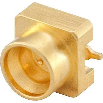 Mini SMP connector Plug, horizontal mount 50 Ω Rosenberger 18S10