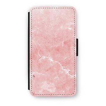 Huawei Ascend P10 Flip Case - Pink Marble