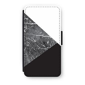 Huawei P9 Flip Case - Marble combination