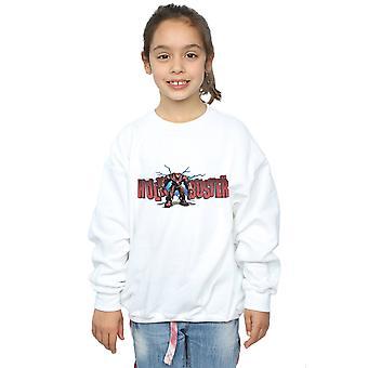 Marvel Mädchen Avengers Infinity Krieg Hulkbuster 2.0 Sweatshirt