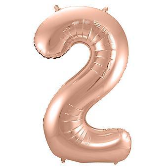 Nummer 2 uppblåsbar ballong ökade antalet ballong ballong nummer ca 86 cm