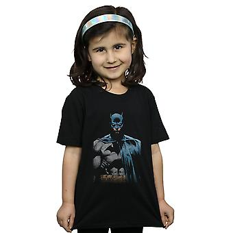 DC Comics meisjes Batman dicht omhoog T-Shirt