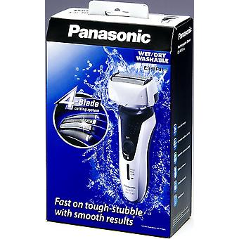 Panasonic ES-RF31 4 Blade Electric Shaver Wet/Dry with Flexible Pivoting Head for Men, Stainless - Black/Silver