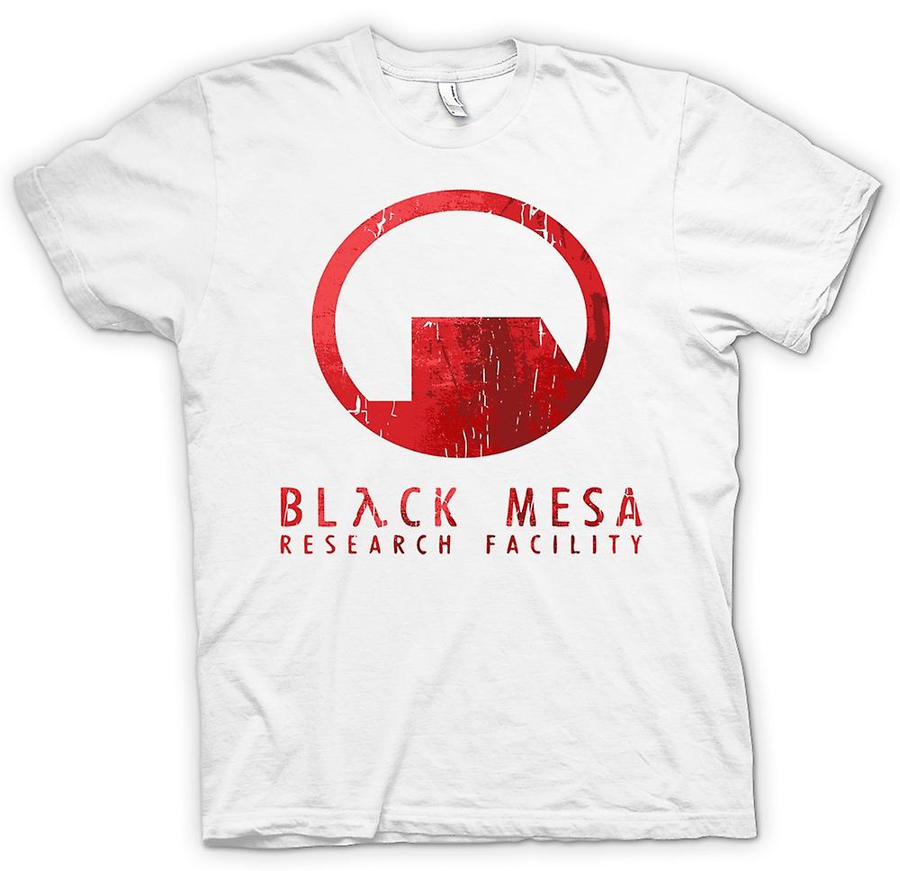Mens T-shirt - Black Mesa Research Facility IRMB - Gamer