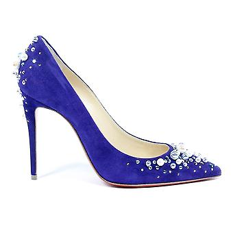 Christian Louboutin Womens Pump Candidate 100 Veau Velours