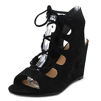 Steve Madden Womens Whistler Leather Open Toe Special Occasion Strappy Sandals