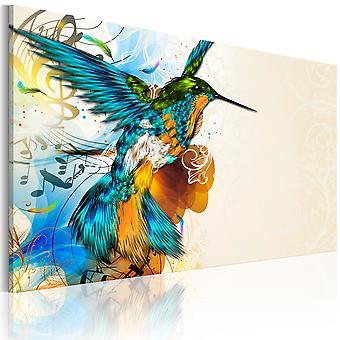 Canvas Print - Bird's muziek