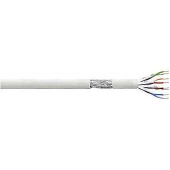 LogiLink CP2100S Network cable CAT 6 S/FTP 4 x 2 x 0.10 mm² Grey 100 m