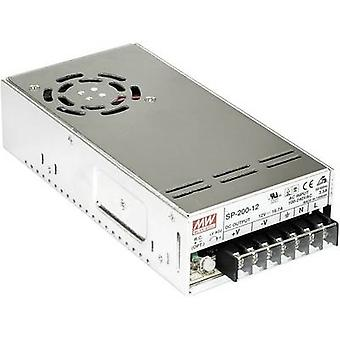 AC/DC PSU module (+ enclosure) Mean Well SP-200-27 27 Vdc 7.5 A
