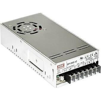 AC/DC PSU module (+ enclosure) Mean Well SP-200-27 27 Vdc 7.5 A 202 W
