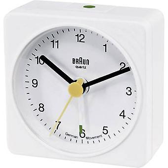 Braun 66001 cuarzo despertador alarma blanco veces 1