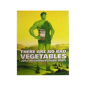 Jolly Green Giant Metal Sign