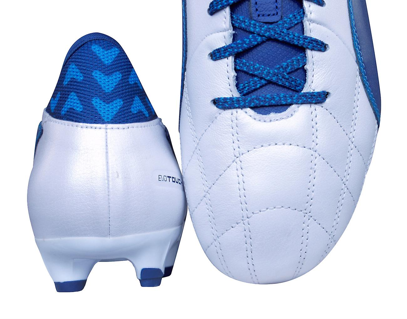 White Puma evoTOUCH Cleats AG Leather 3 Lth Puma Boots Mens Football UzZqOnw