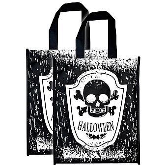 Truc d'Halloween ou régal Skull Bag - Pack 2