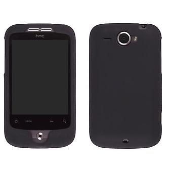 HTC Wildfire (GSM) Silicone Gel Black