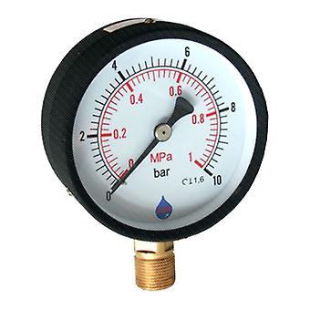 63mm various range bar psi dial Pressure Gauge 1/4