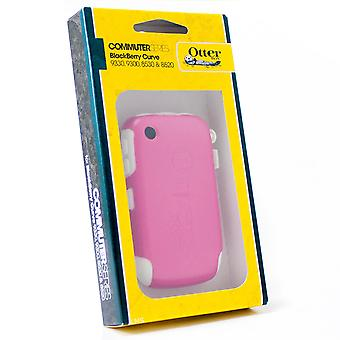 OtterBox Commuter Case for BlackBerry Curve 8520, 8530, 9300 (White & Pink)