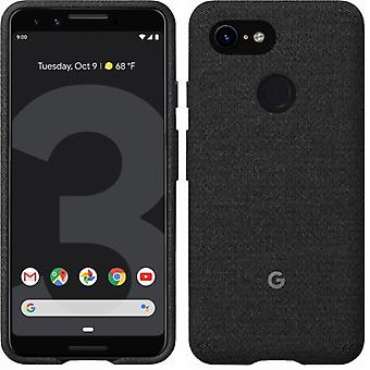 New Genuine Official Google Pixel 3 Fabric Case Cover GA00486 - Carbon Black