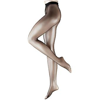Filet de Falke collants en laine - noir