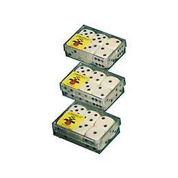 Dice 6 in box 12stuks