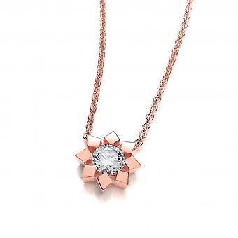 Collar de la flor de oro francesa de Cavendish