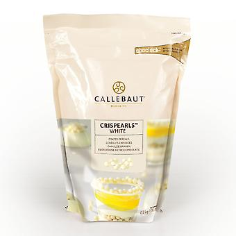 Callebaut weiße Schokolade Crispearls