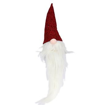 Claus tela rojo/blanco 84 cm