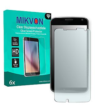 Motorola XT1055 Screen Protector - Mikvon Clear (Retail Package with accessories) (reduced foil)