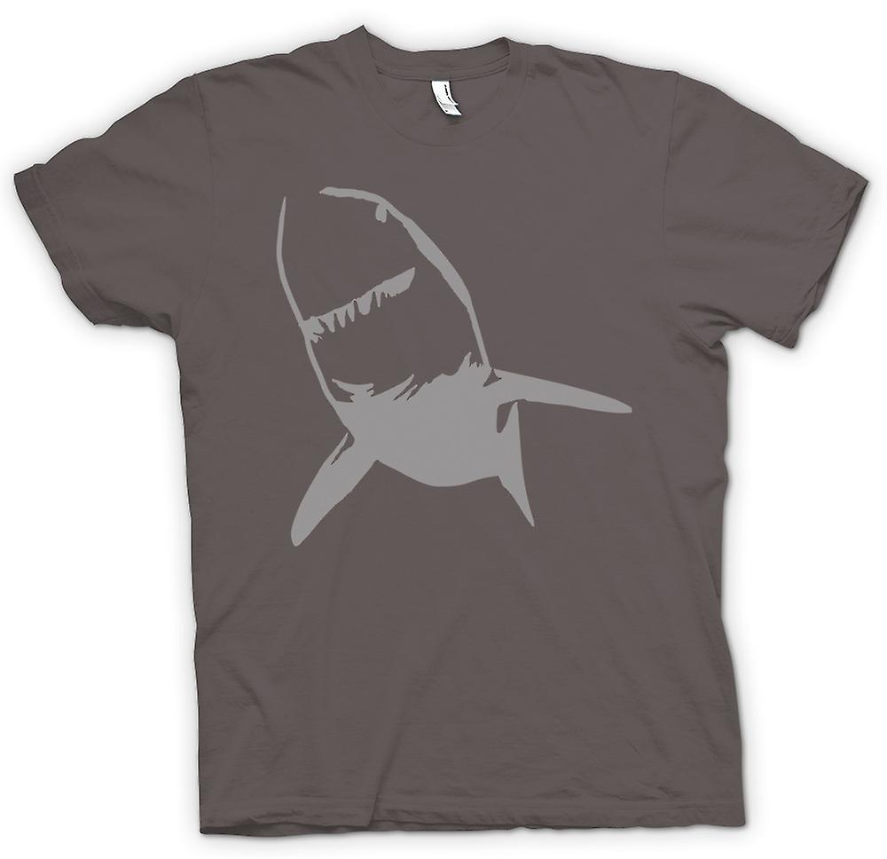 Mens T-shirt - Great White Shark Killer