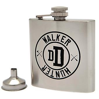 The Walking Dead Stainless Steel Hip Flask