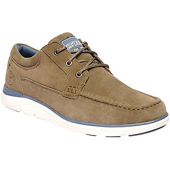 Regatta Mens Denshaw Low II Lace Up Suede Casual Shoes