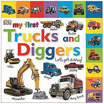 Min första lastbilar och grävmaskiner låt oss få bil (min första Board Book)