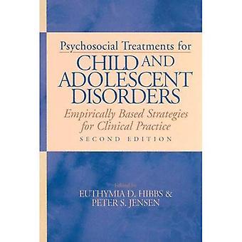 Psykosociala behandlingar för barn och ungdomars störningar: empiriskt baserade strategier för klinisk praxis