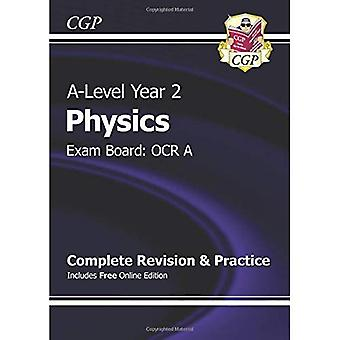 New 2015 A-Level Physics: OCR A Year 2 Complete Revision & Practice with Online Edition