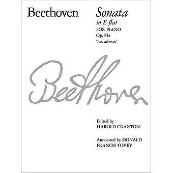 Beethoven Piano Sonata in E Flat, Op. 81a: No. 26: Adieux (Signature S.)