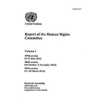 Betänkandet från utskottet för mänskliga rättigheter, volym I: 1 (offentlighetsprincipen)