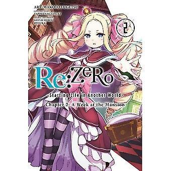 RE: Cero - a partir de vida en otro mundo-, capítulo 2: una semana en la mansión, Vol. 2 (Manga)