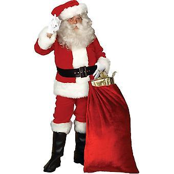 Fabelagtig Santa voksen kostume