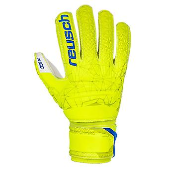 Reusch Fit Control SG Finger Support Mens Goalkeeper Glove Lime