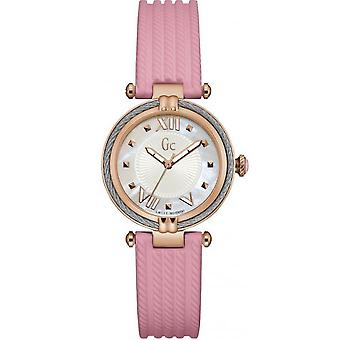 -Watch GC Y18011L1 Silicone Rose Bo tier steel woman woman