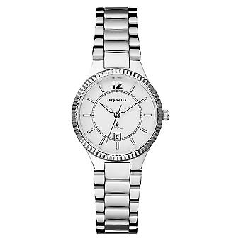 ORPHELIA Ladies Analogue Watch Edel Silver Stainless steel 122-2701-88