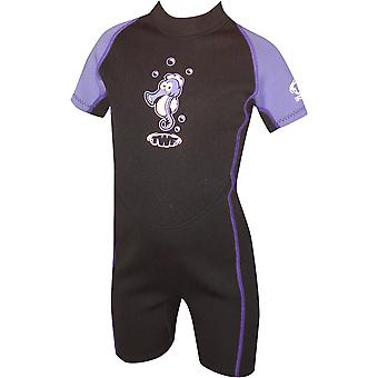 Twf Seahorse Summer Shortie Swimwear For Girls