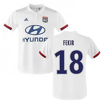 2019-2020 Olympique Lyon Adidas Home Football Shirt (FEKIR 18)