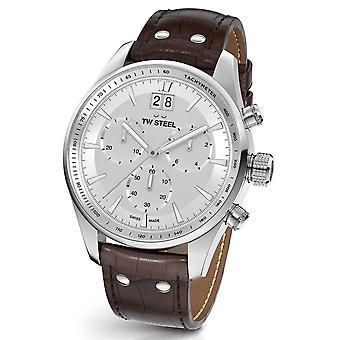 Montre TW Steel Ace302 antique Aternus Swiss Made chronograph mens watch 45 mm